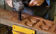 """/""""LOOK/"""" Brand New 3pc Fraiseuse de-piquage Set Bois Menuisier Charpentier UK Stock"""