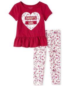 Toddler Girl Shorts, Toddler Leggings, Girls Pants, Toddler Girl Outfits, Toddler Fashion, Toddler Girls, Baby Girls, Little Girl Outfits, Little Girl Fashion