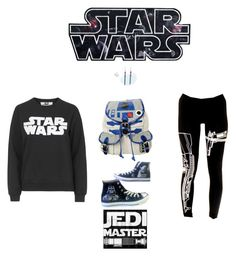 Going to go see the new star wars movie by kittiekait on Polyvore featuring polyvore fashion style Tee and Cake Converse R2