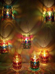 Mason Jar Lanterns                                                       …