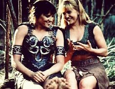 Xena warrior princess and Gabrielle 'One day in life' - Lucy Lawless Renée O'Connor