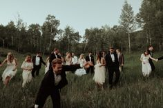 Crazy Bridal Party Wedding Pictures | http://hijune.com | June Photography