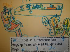Teaching Subtraction to Kindergarten :)
