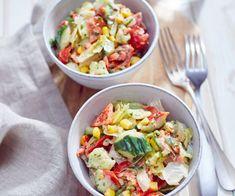 Cobb Salad, Potato Salad, Food And Drink, Potatoes, Ethnic Recipes, Dressings, Presents, Kitchens, Radish Salad