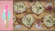 Flammkuchen-Toast - Rezept von Alexandra´s Food Lounge Kebab, Lounge, Cheese, Meals, Breakfast, Blog, Youtube, Pastry Recipes, Fast Recipes