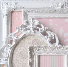 COLLECTION of MAGNET BOARDS Shabby Chic Nursery by ShugabeeLane, $159.00 sherrisboutique