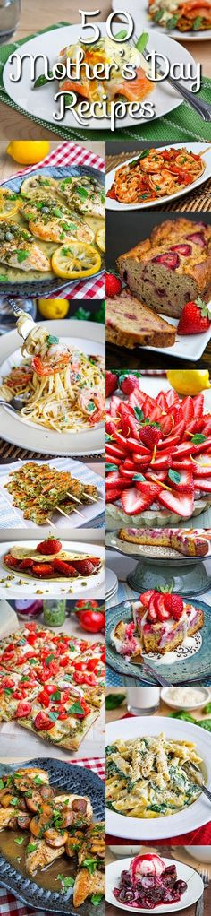 50 Mother's Day Recipes #mothersday #recipes