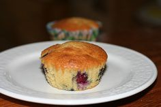 Passover Blueberry Muffins