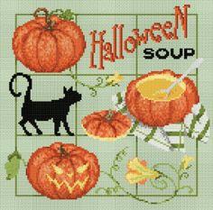 """Madame la fée - """"Halloween Soup""""  136 x 132 points"""