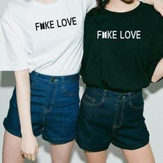 BTS FAKE LOVE Unisex T-Shirt/Kpop Merch/fake love bts/fake love shirt/Bts shirt/Kpop shirt/Korean/Love yourself/Bts pins/K-pop/Kpop store Korean Fashion Trends, Kpop Fashion, Fashion Outfits, Style Fashion, Fashion 2017, Womens Fashion, Trendy Fashion, Kpop Outfits, Cute Outfits