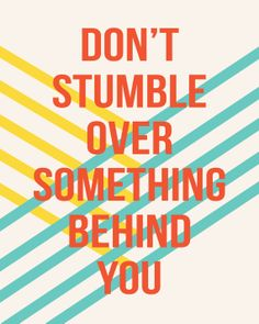 8x10 dont stumble by kensiekate on Etsy, $15.00