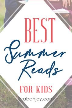 These 101 best summer reads for kids will encourage your kids to keep reading even while school is out. It's the perfect screen-free activity for kids, too!