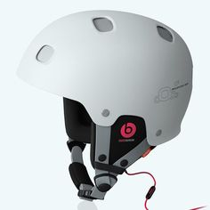 Receptor BUG Communication — One of POC's most popular helmet models, now exclusively offered with Beats by Dr. Dre headphones built into the neck roll. Poc Helmets, Bike Helmets, Beats Audio, Snow Wear, Dre Headphones, Unique Gifts For Men, Beats By Dre, Ski And Snowboard, Veils