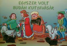 Marci fejlesztő és kreatív oldala: Egyszer volt Budán kutyavásár - letölthető mesekönyv