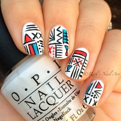Modern Art Nails #ruthsnailart #nailart #nails