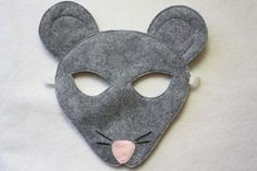 We ordered this mask for our Christmas Play. It's awesome! I want all of them now. pinterest.com/jessicanear/opposite-of-far-masks/