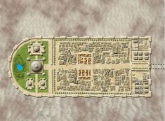 Qijom - an Arabic Styled City by MichaelTumey