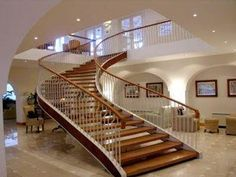 Superieur #WindowsMilwaukeeReplacement Arched Stairs Modern Stairs, Modern Stair  Railing, Stair Design, Staircase Design