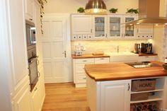 Kuchyně v rustikálním a Provence stylu