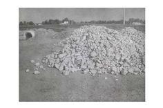 "Charles Kenwischer  - ""Stone Piles"""