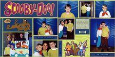 Scooby Doo Halloween - Scrapbook.com