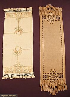 Table Runners, Arts & Crafts Style