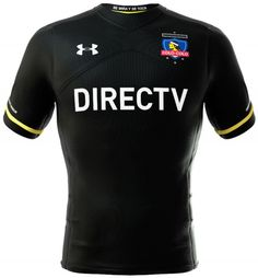 Camisa negra Under Armour do Colo Colo Under Armour, Football Jerseys, Soccer, Show, Chile, Fashion, World Football, Sport, Necklaces
