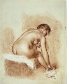 Sanguine par Pierre Auguste Renoir