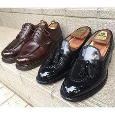 2016/09/16 07:10:37 gentle_kutsumigaki #Alden #paraboot #chambord #cordovan #beautyandyouth #unitedarrows #tokyo #mirrorshine #tassel #loafers #classy #madeinfrance #madeinusa #tokyo #shoeshine #shoecare #kiwi #saphir #bootblack #gentleman