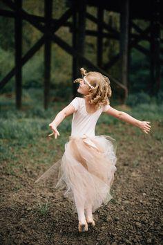 Flower girl ideas #tutu #dancing #wedding