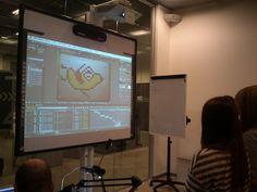 Taller animación GIF con Micropaleta gráfica codeco -- pegatopíxeles físicos