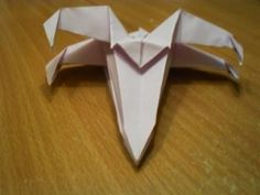 How to Make an Origami X-Wing Starfighter