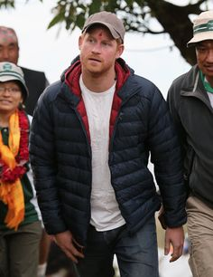 Prince Harry arrives at the village of Leorani in the Himalayan foothills on day three of his visit to Nepal on March 2016 in Bardia, Nepal. Prince Harry is on a five day visit to Nepal, his first official tour of the country. Prince Harry 2016, Prince Harry Of Wales, Prince William And Harry, Prince Harry And Megan, Prince Henry, Harry And Meghan, Prince Harry Pictures, Harry Windsor, Harry Wedding