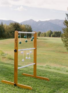 Hillbilly Golf: http://www.stylemepretty.com/living/2015/05/18/14-outdoor-party-games-for-your-next-spring-bash/