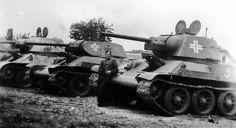 Captured T-34s