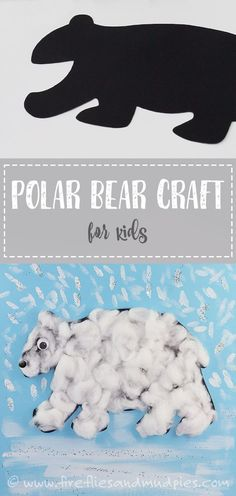 Printable Polar Bear Craft for Kids Easy Polar Bear Cr. Free Printable Polar Bear Craft for Kids Easy Polar Bear Cr.,Free Printable Polar Bear Craft for Kids Easy Polar Bear Cr. Winter Art Projects, Winter Crafts For Kids, Winter Kids, Preschool Winter, Winter Crafts For Preschoolers, Winter Activities, Craft Activities, Summer Crafts, Crafts Fir Kids