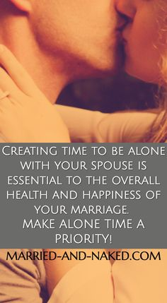 Create Alone Time in Your Marriage