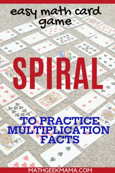 Learning multiplication facts can be such a chore. Make multiplication for kids fun and engaging with this simple card game! Only takes 2 minutes to set up. #mathcardgame #cardgame #multiplication #3rdgrademath Easy Math Games, Math Card Games, Free Printable Math Worksheets, Fun Math Activities, Kindergarten Math Worksheets, Math Resources, Learning Multiplication Facts, Multiplication For Kids, Homeschool Math