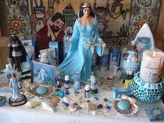 altar de Iemanja