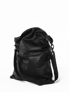 No. 11  #minimalism #bag #black #leather bag