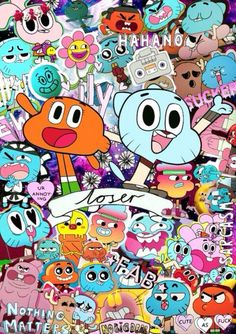 Gumball isn t great go back to your childhood sometimes I always say that I never stoped being a child cause we got the child in our hearts we are only big kids Cartoon Wallpaper Iphone, Cute Disney Wallpaper, Cute Cartoon Wallpapers, Cute Wallpaper Backgrounds, Tumblr Wallpaper, Aesthetic Iphone Wallpaper, Desenhos Cartoon Network, Big Kids, Walt Disney Animation Studios