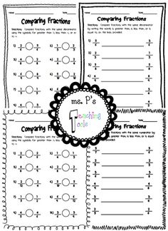math worksheet : denominators and numerators comparison worksheets  jaedh maths  : Comparing Fractions With Unlike Denominators Worksheets