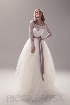 Роскошное пышное свадебное платье / Ricca Sposa 2015 /Новая коллекция очаровует )