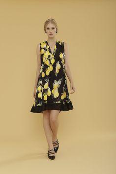 Mhor Dress, Lemons (5875G)