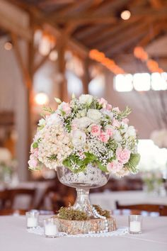 Beautiful Floral Centerpieces.