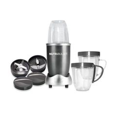 MagicBullet® 3-Cup NutriBullet™ and Accessories - BedBathandBeyond.com - I love my NutriBullets. I have 2, one at home & one at the office. Get your 20% off coupon at BedBathandBeyond & save $20.