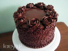 Dużo czekolady i róże by Teresa Pękul