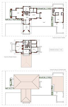 Francis W Little House, Peoria IL (1903)   Frank Lloyd Wright   Archweb 2D