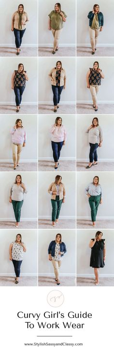 Curvy Girl's Guide To Work Wear Trendy Outfits – Daily Fashion Only Fashion, Curvy Fashion, Plus Size Fashion, Petite Fashion, Style Fashion, Fashion Ideas, Fashion Trends, Plus Size Outfits, Trendy Outfits