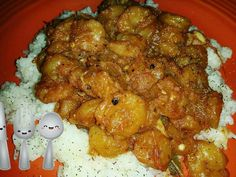 Cajun Sautéed Shrimp w/Jasmine Rice